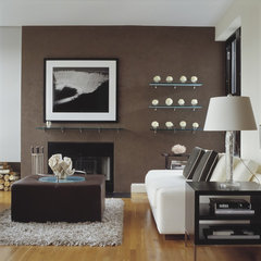 contemporary living room by Pleasant Living, LLC