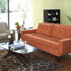 Modern Living Room by Plummers Furniture