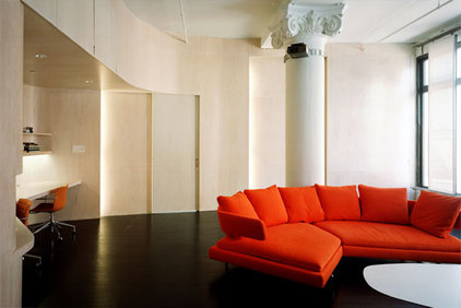 Modern Living Room by nARCHITECTS