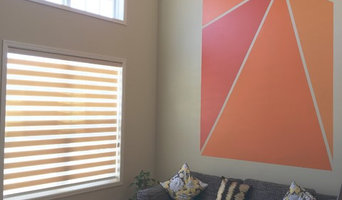 Plymouth Contemporary with Allure, Pleated and Vertical Blinds