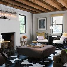 Eclectic Living Room by bahdeebahdu