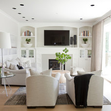 Traditional Living Room by Tanya Schoenroth Design
