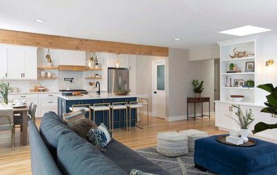 A Family Holds Out for a Modern Farmhouse Look That Will Last