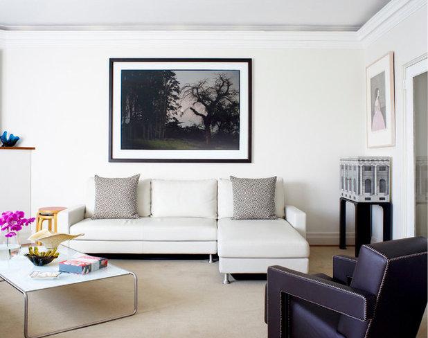 Contemporary Living Room by Scott Weston Architecture Design PL