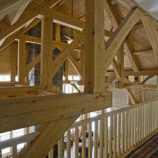Rustic Living Room by Birdseye Design