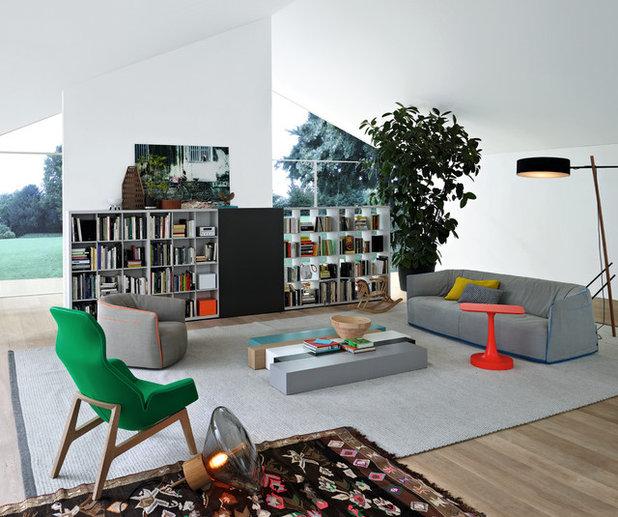 Scandinavian Living Room by Poliform Australia