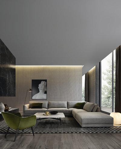 ... Braun Beige 728x437 Jpg 12 Moderne Wohnzimmer Nicht Nur Fur Minimalisten  ...