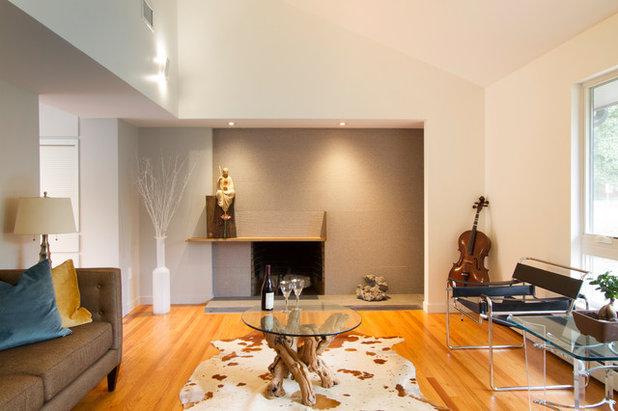 Modern Living Room by Princeton Design Collaborative