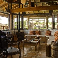Tropical Living Room Ponta da Piteira - South Brazil