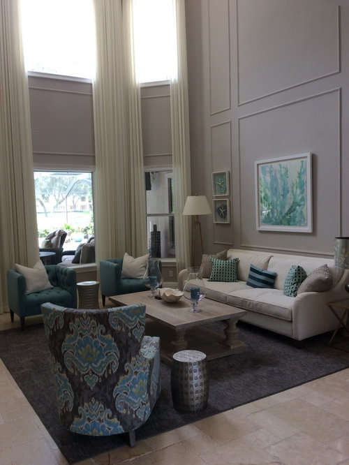 Grey Living Room Design Ideas Renovations Photos With