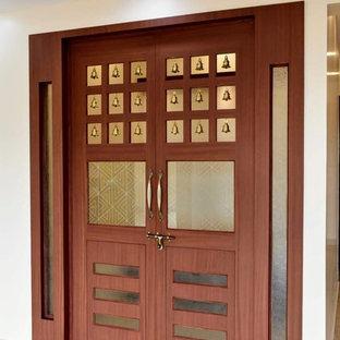 Kolonialstil Wohnzimmer in Bangalore