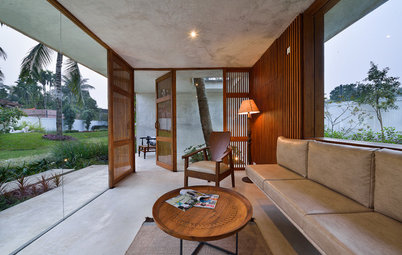 Houzz Tour: A Contemporary Pool House Nestled in Rural Bengal