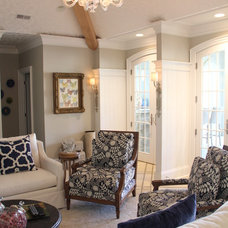 Traditional Living Room by Jones Group Interiors