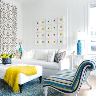 Pops of Colour Living Space