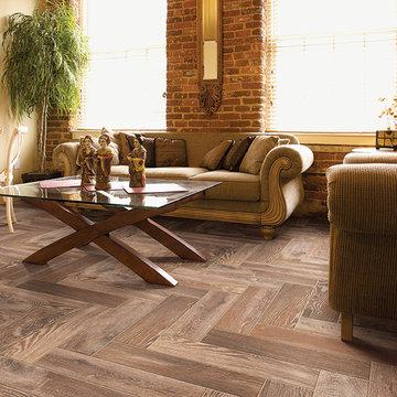 Porcelain Wood Plank Floor