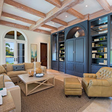 Mediterranean Living Room by Clive Daniel Home