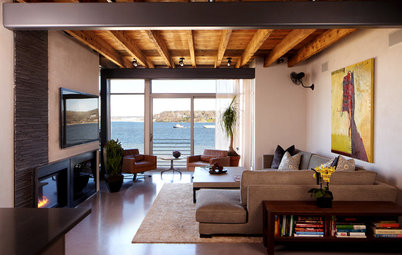 Houzz Tour: Excavated Waterfront Home in New York