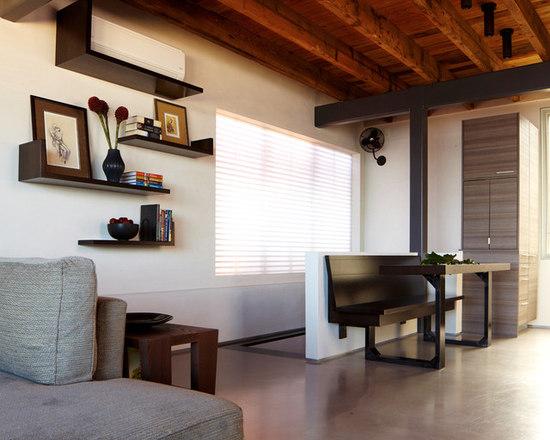 Hidden Air Conditioner Houzz - Living room air conditioner