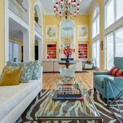 contemporary living room by Matt Harrer Photography
