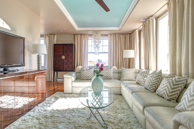 Contemporary Living Room by S&K Interiors and Home Staging