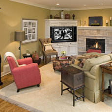 Eclectic Living Room by Artful Styles, Inc.