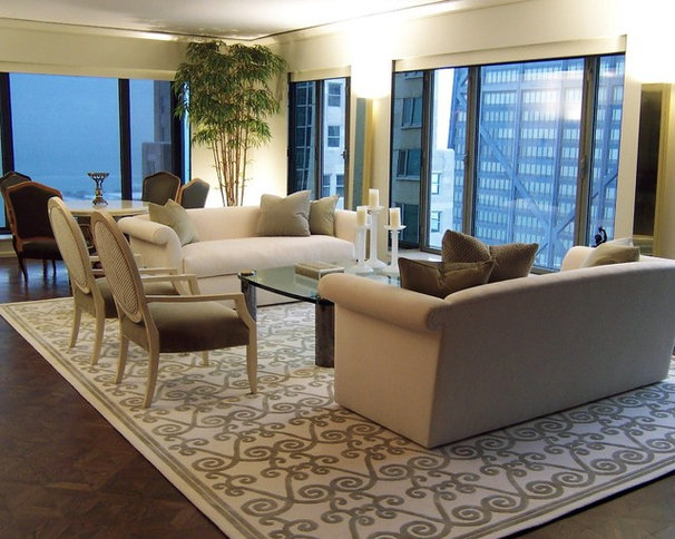 Traditional Living Room by ASI Interiors, Inc.