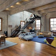 Modern Living Room by Carl Wooley
