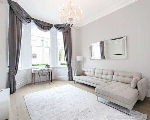 light grey living room photos