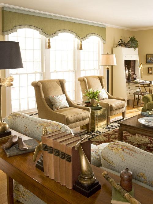 Valance Living Room   Houzz