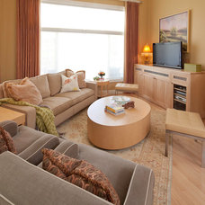 Eclectic Living Room by David Boyes Home Concepts