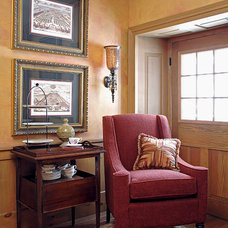 Traditional Living Room by David Boyes Home Concepts