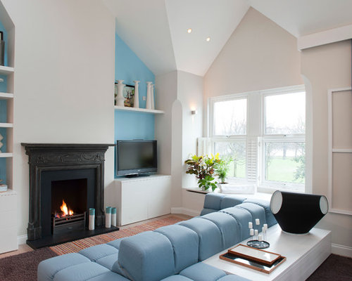Design Ideas For A Traditional Formal Living Room In London With Beige  Walls, A Standard Part 73