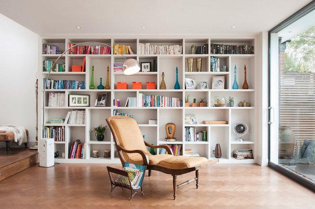 Contemporary Living Room by Barbara Genda Bespoke Furniture & Interiors