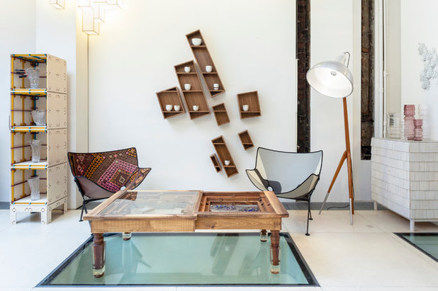 Eclectic Living Room by Inge Clemente Photography