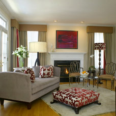 Traditional Living Room by Patrick J. Baglino, Jr. Interior Design