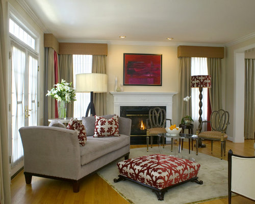 Traditional Formal Living Room Idea In DC Metro With A Standard Fireplace