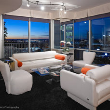 Modern Living Room by James Klotz