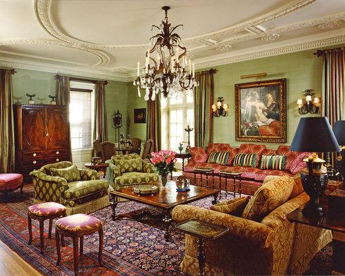 Gold Living Room - Gold Living Room Houzz