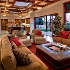 Contemporary Living Room by EXPERT WOODWORKING