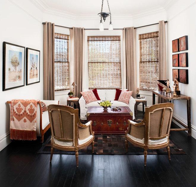 Phòng khách chiết trung của thiết kế nội thất Antonio Martins