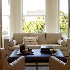 Contemporary Living Room by Jute Interior Design