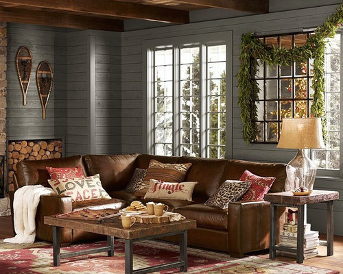 Pottery Barn Living Room Design Ideas, Remodels & Photos | Houzz