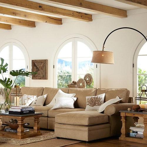 Contemporary Living Room Idea In Sacramento. Save Photo. Pottery Barn