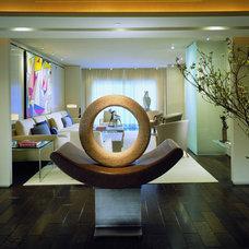 Modern Living Room by Powell/Kleinschmidt, Inc.