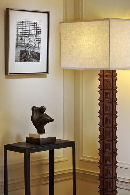 Eclectic Living Room by Katie Denham Interiors