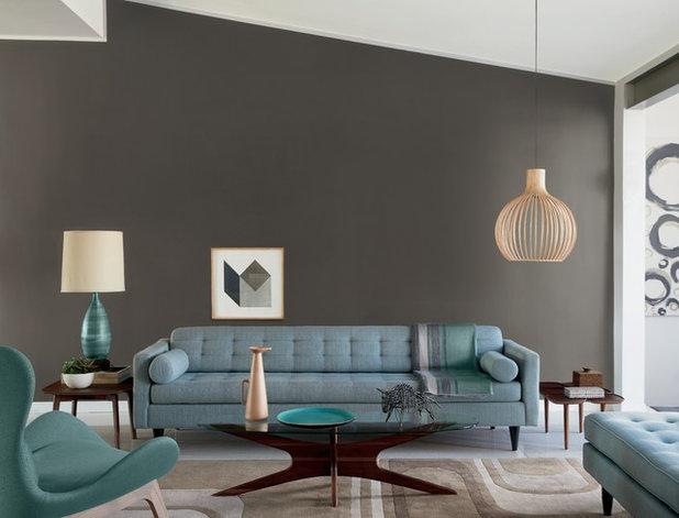 Contemporary Living Room by Pratt & Lambert Paints