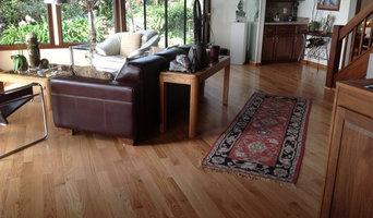 Prefinished red oak floor in San Jose home