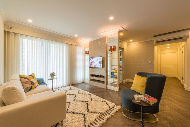 Fusion Living Room by Aiden T