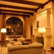 Mediterranean Living Room by Preston Custom Homes