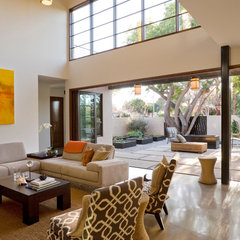 contemporary living room by Osborne Architects